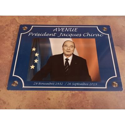 Avenue Président JACQUES CHIRAC