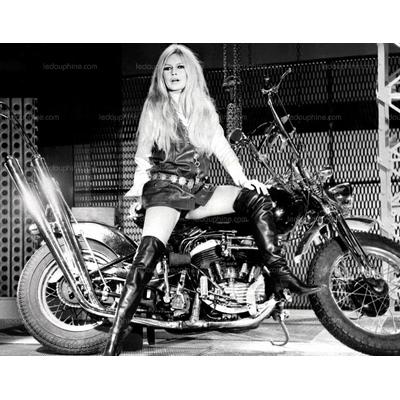 Plaque Métal Brigitte Bardot