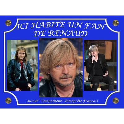 Plaque de Rue Renaud SECHAN