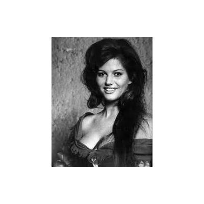 Plaque Métal Claudia Cardinale