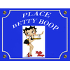 PLACE BETTY BOOP SERVEUSE
