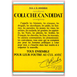 Tee-Shirts Coluche Candidat