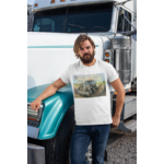 T-shirt Camion Américain.