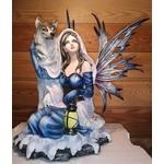 Fée avec Loup et Lanterne A