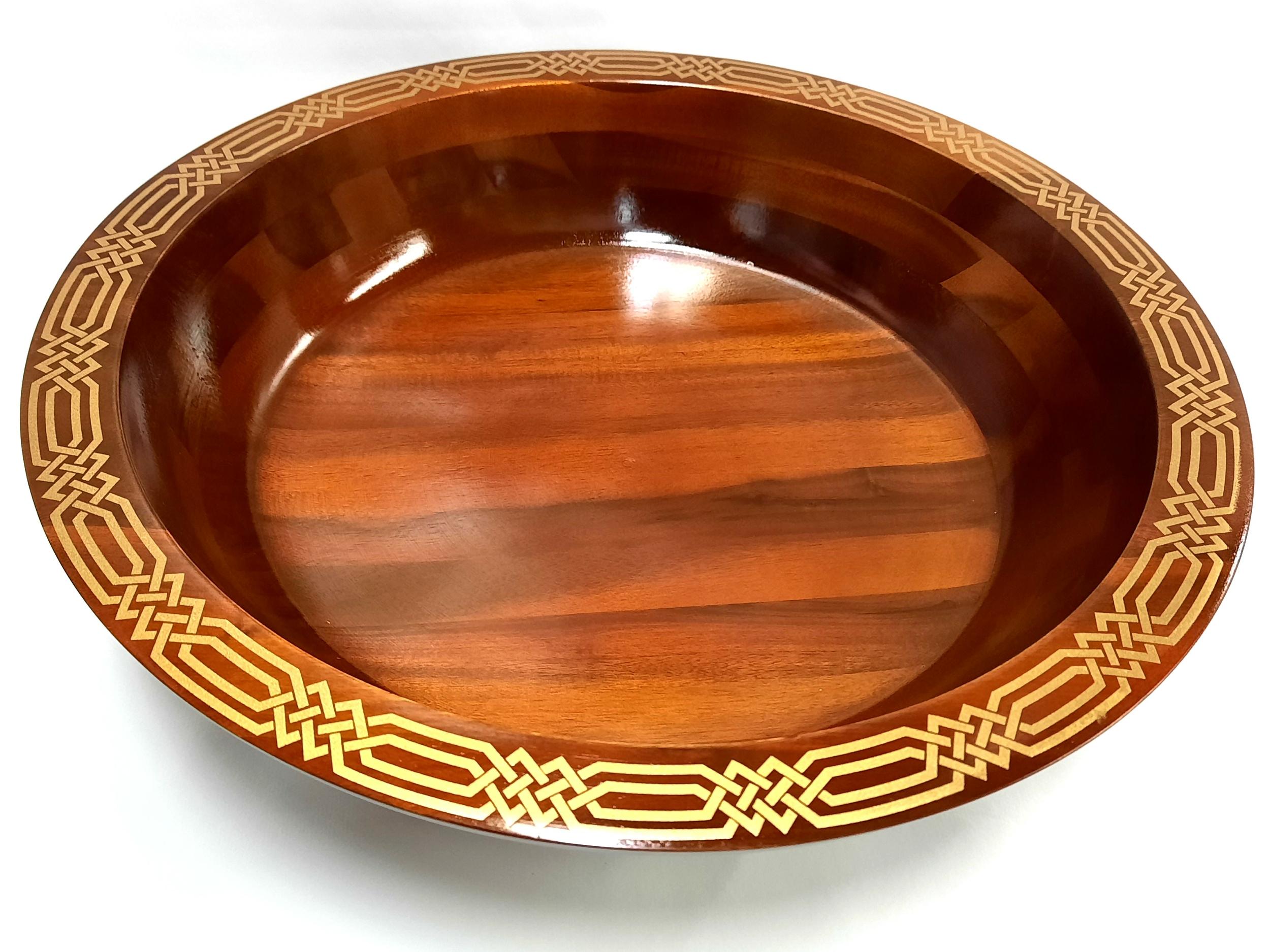 Plat en bois 35 40 et 45 cm de diamètre