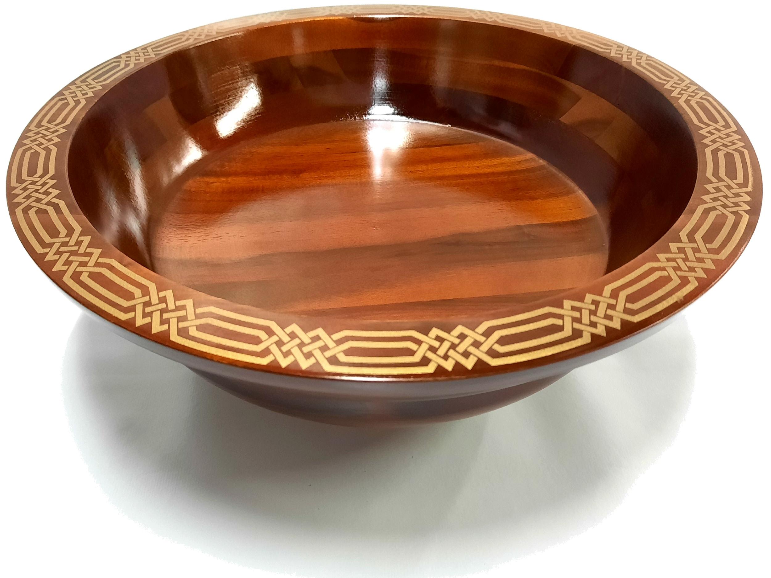 Plat en bois 35 cm de diamètre