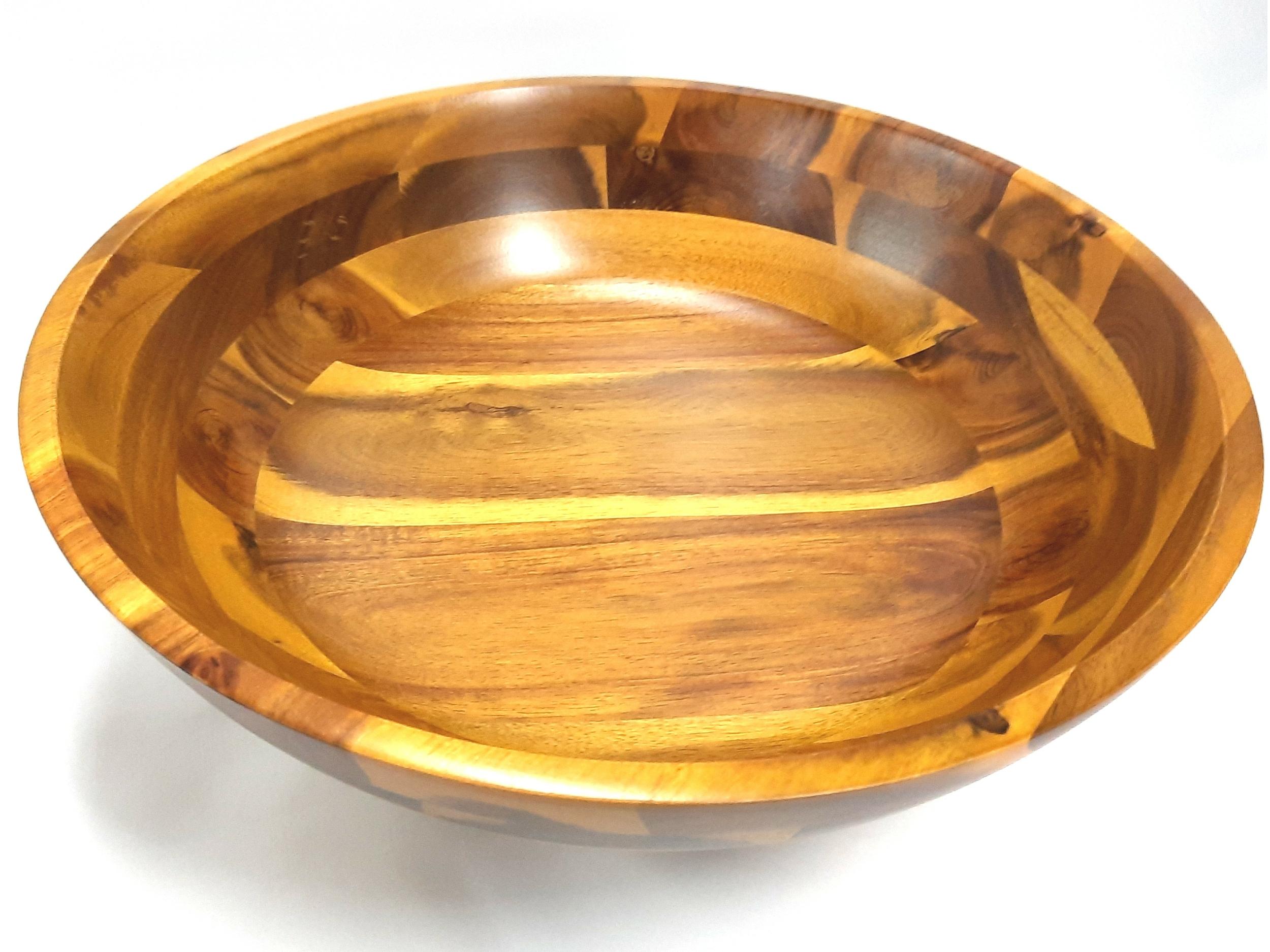 Plat en bois d\'Acacia 35 40 OU 45 cm