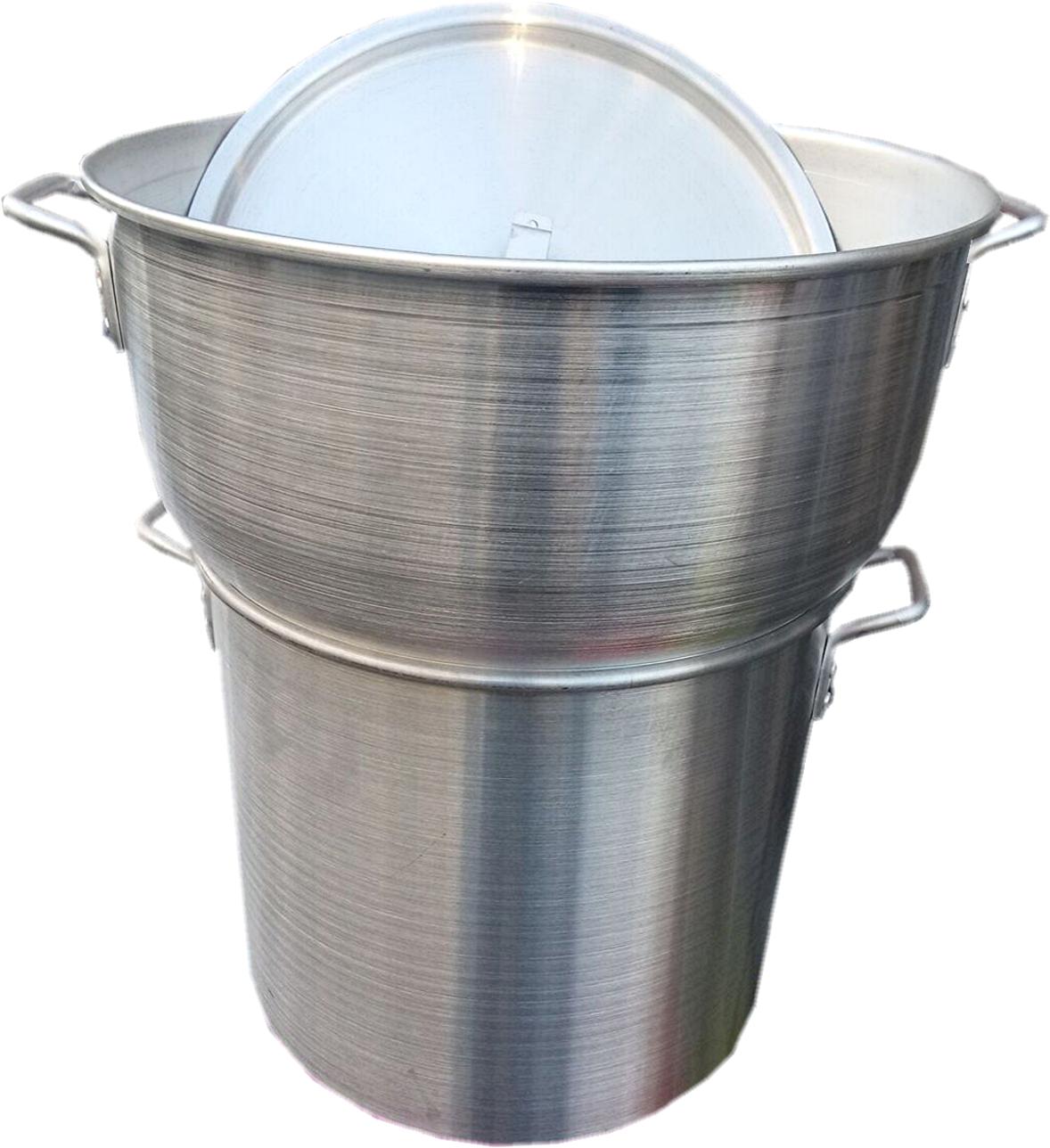 Couscoussier Professionnel En Aluminium 40 Litres Ustensile De