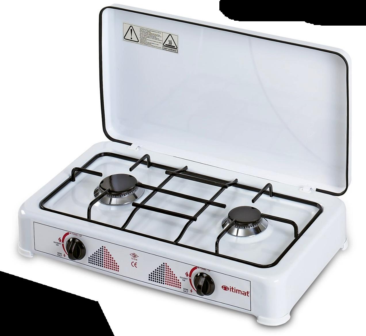 Table De Cuisson Gaz Et Electricite plaque de cuisson 2 feux au gaz butane