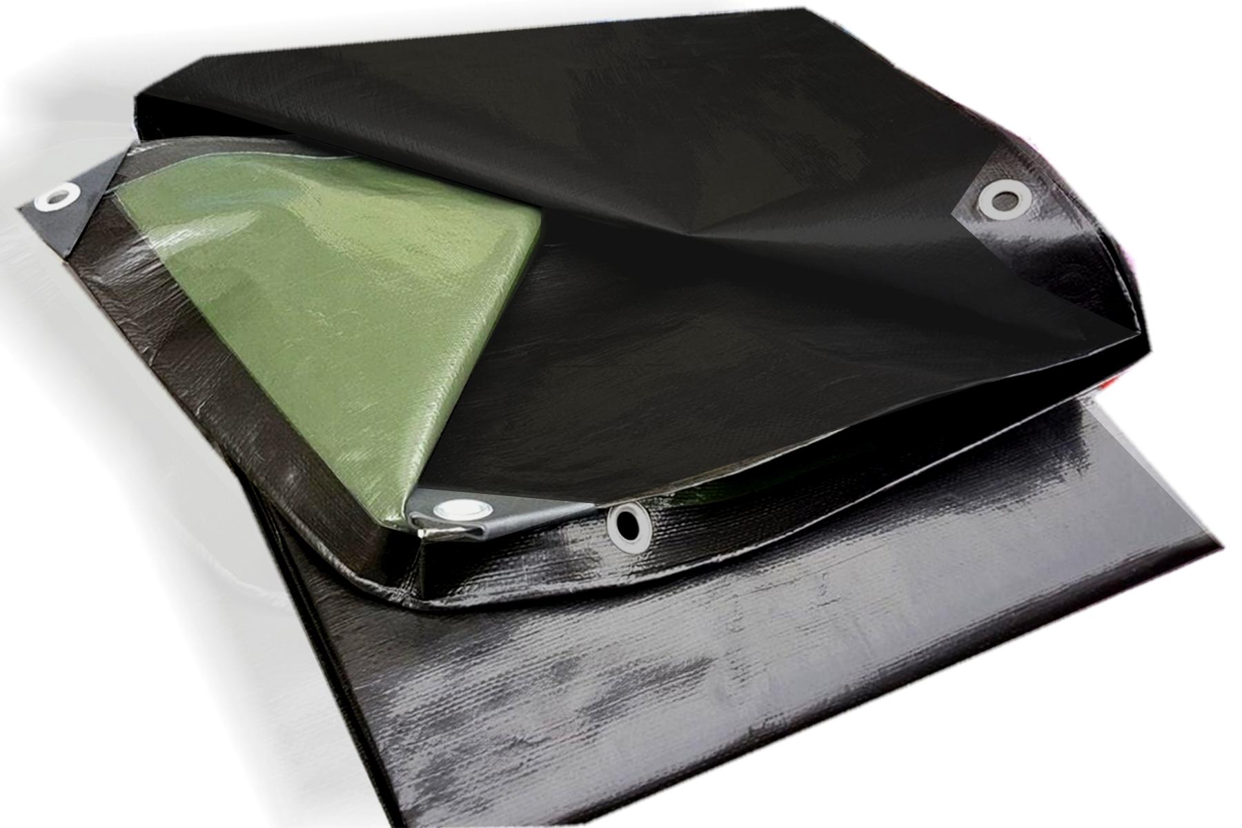Bâche de couverture multi-usage ultralourde Haute densité 240 g/m² 2x3m