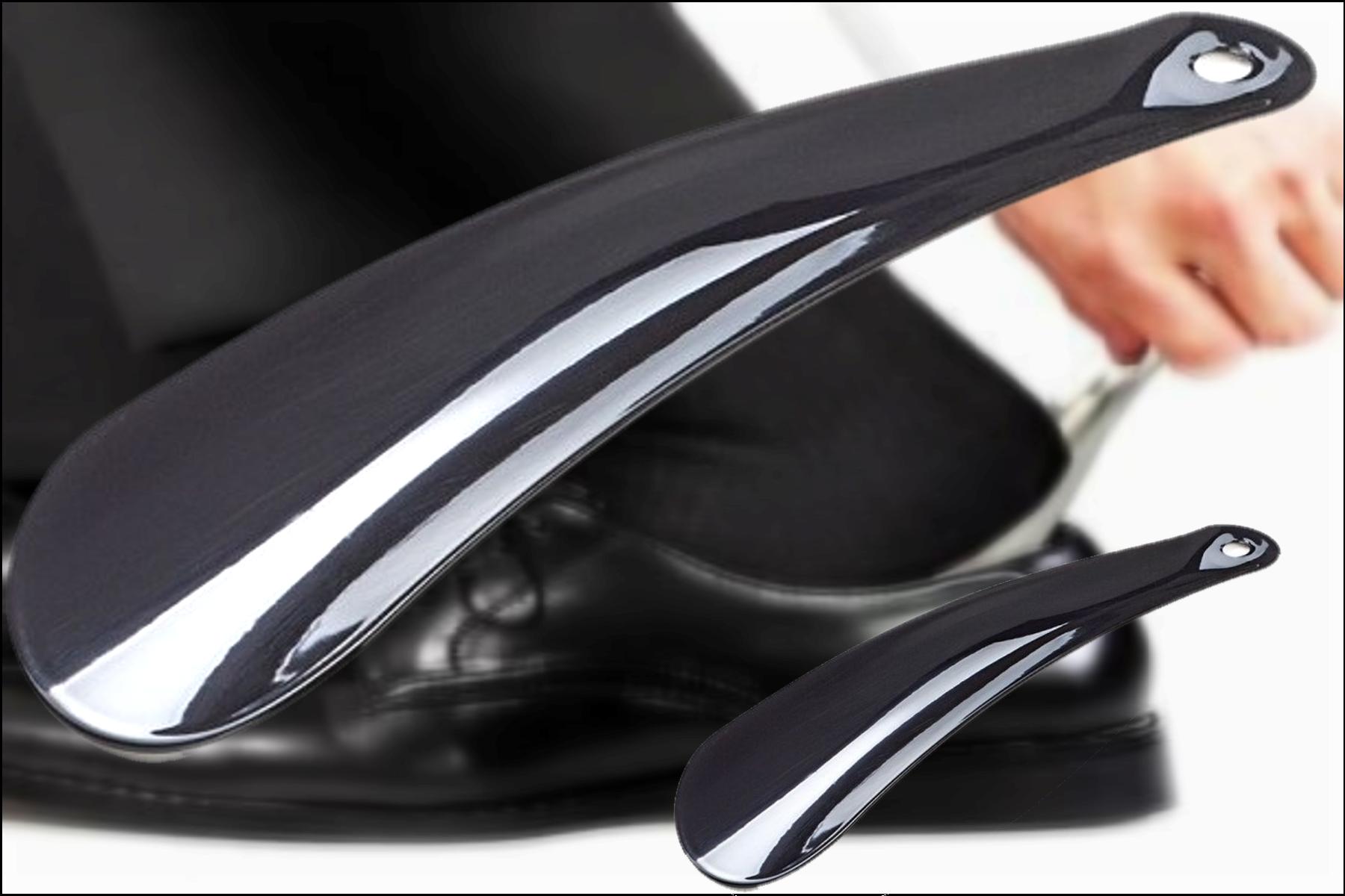Chausse pied métal inox 12 ou 30 cm de long
