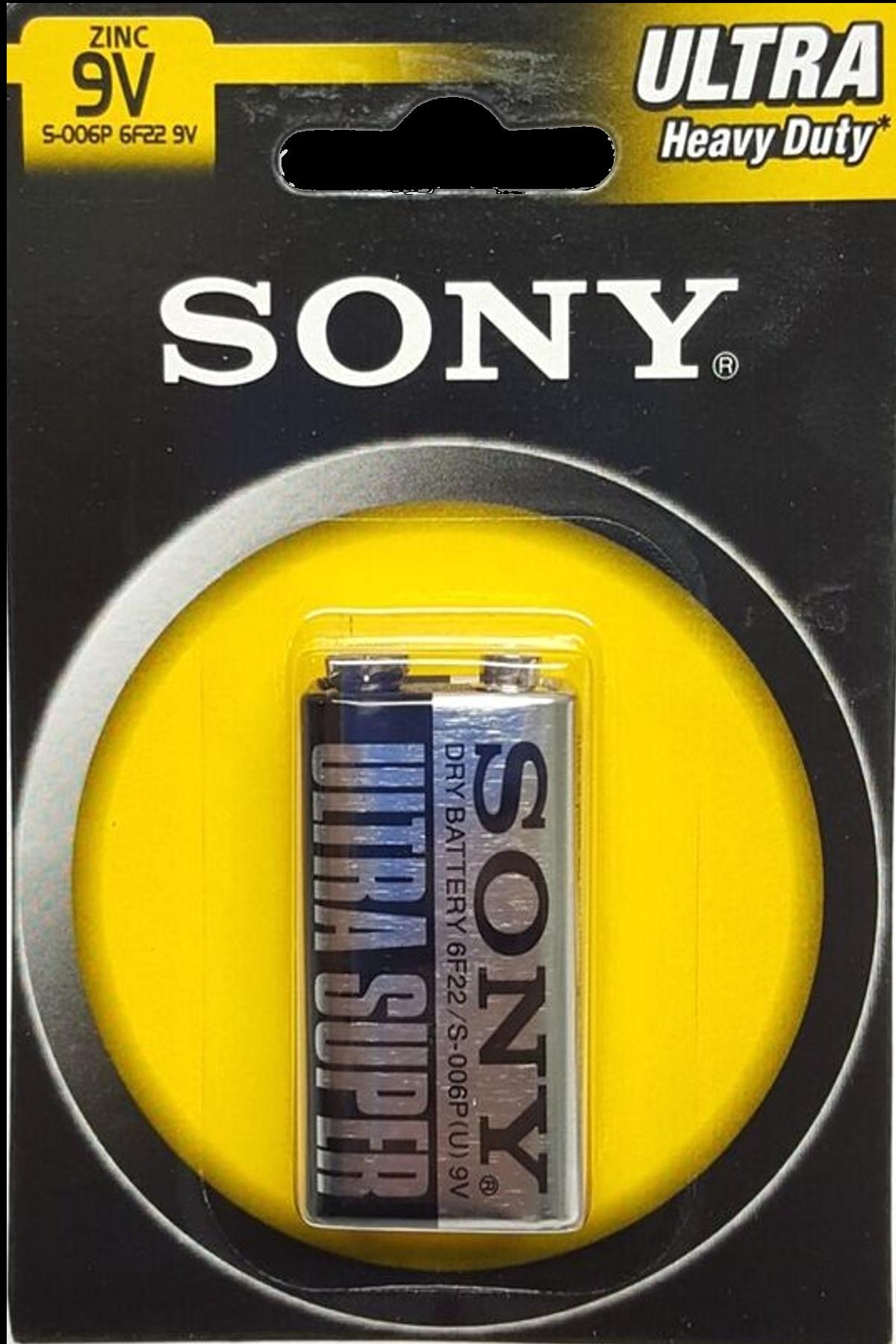 1 pile 9v 6f22 Sony