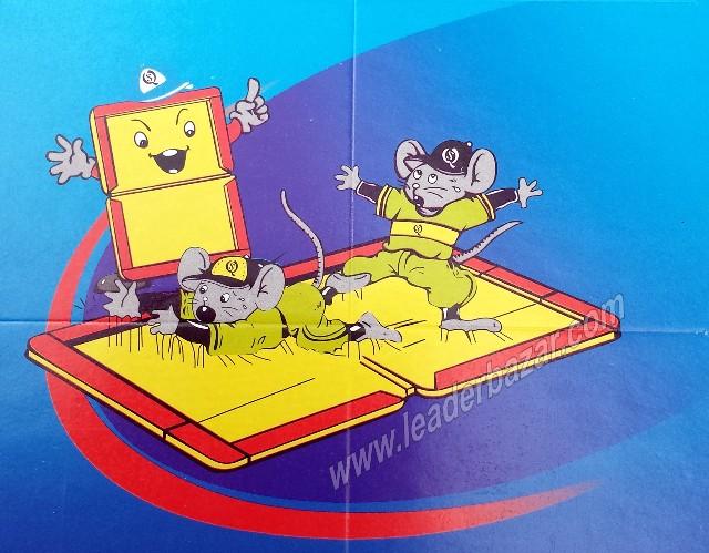1 plaque à glu pour rats et souris