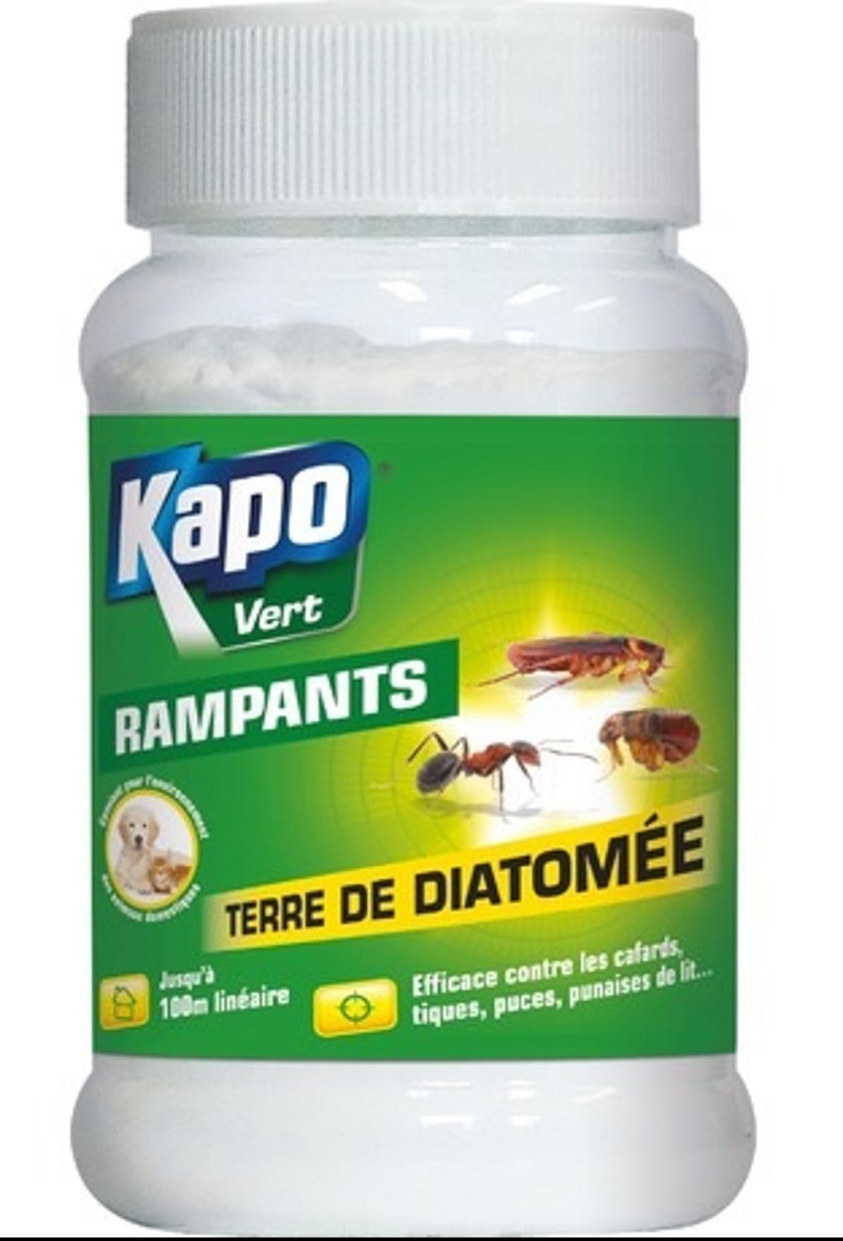 Terre de diatomée Kapo Vert 100G
