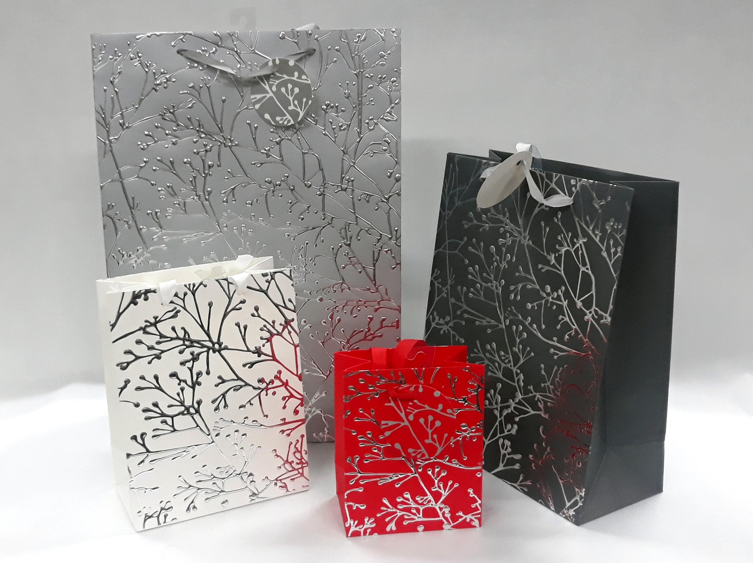 Sac cadeau en papier pelliculé