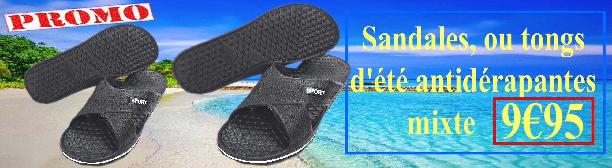 Sandales, ou tongs