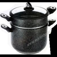 Couscoussier avec joint d'étanchéité 10 litres