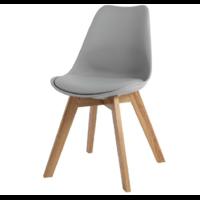 2 chaises grises design