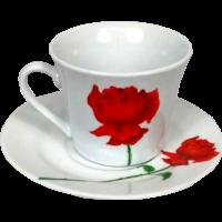 Tasse à café avec soucoupe 180cc