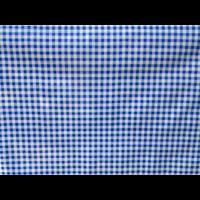 Toile nappe cirée vichy bleu