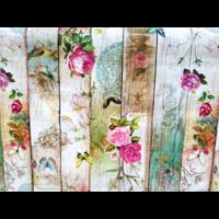 Nappe Toile cirée fleur