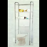 Meuble dessus de toilettes WC 3 étagères