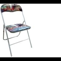 2 Chaise pliables déco New York