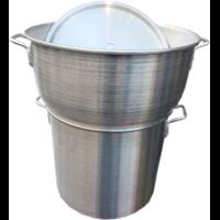 Couscoussier professionnel  en aluminium  40 litres