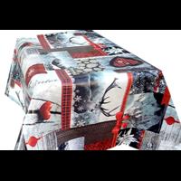 Nappe Toile cirée spécial fêtes de Noël