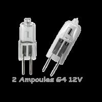 2 Ampoules G4 20W 12V