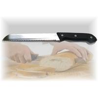 Couteaux à pain 30 cm lame en acier inox