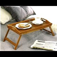 Plateau petit-déjeuner au lit bambou