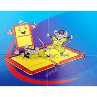 2 pièges ou plaque à glu pour rats et souris