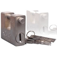 Cadenas de sureté avec 5 clés 94 mm