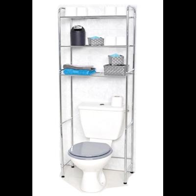 Meuble Dessus De Toilette Wc 3 Etageres