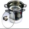 Couscoussier en inox de 4,6 ,8 et 12 litres