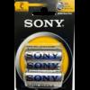 2 Piles 1.5v / C R14  Sony