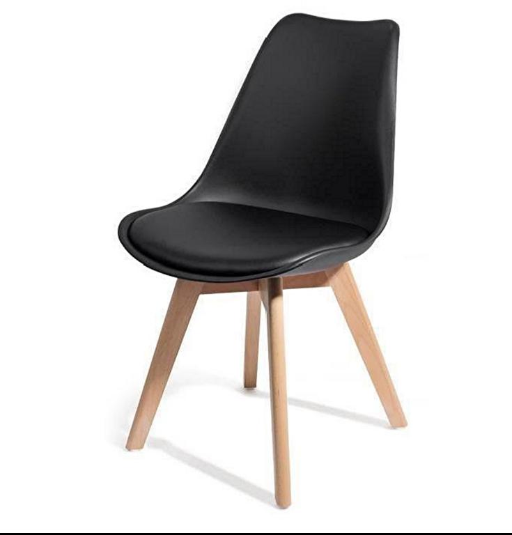 chaise scandinave noir rangement mobilier chaise leaderbazar. Black Bedroom Furniture Sets. Home Design Ideas