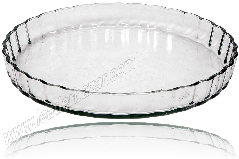 plat tarte en verre 2 litres ustensile de cuisine plat. Black Bedroom Furniture Sets. Home Design Ideas
