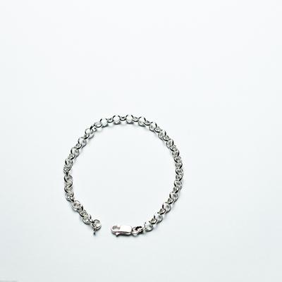 Bracelet  maille ronde Argent