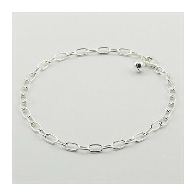 Bracelet maille allongée Argent - UDO