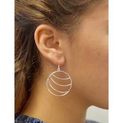 Boucles d'oreilles créoles - LILOU
