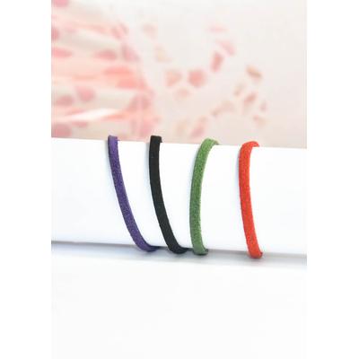 Cordons de couleurs - SUEDINE