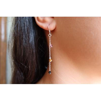 Boucles d'oreilles en argent - KYRIEL