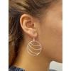 Boucles d'oreilles créoles Lilou