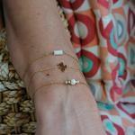 Bracelets acier pastille cactus