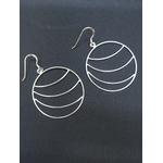 Boucles doreilles créoles -LILOU