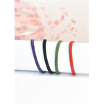 cordons de couleurs - SUEDINE -
