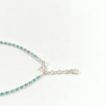 details bracelet yaz bleu