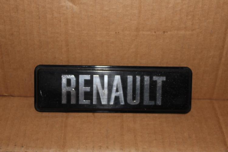 insigne renault renault auto pi ces anciennes. Black Bedroom Furniture Sets. Home Design Ideas